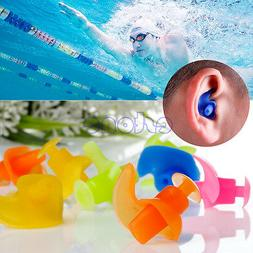 2x Soft Waterproof Silicone Swimming Swim Diving Water Sport