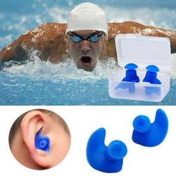 Hypo-allergenic Waterproof Plug Spiral Swimming Ear Protecti