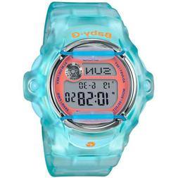Casio BG169R-2C Women's Baby-G Light Blue Resin Strap Dive W