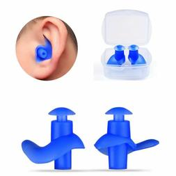Blocks Useful Swimming Ear Protection Spiral Diving Earplugs