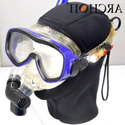 Archon D1A Cree XP-E Scuba Underwater LED Beacon Diving Mask