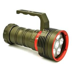 Divng Waterproof Dredging Prospecting Fishing Boating Torch