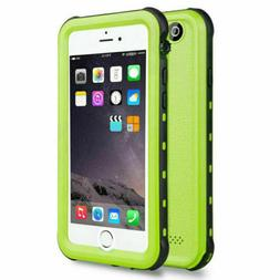 For iPhone 6s 7 8 Plus Waterproof Diving Case Cover w/ Built