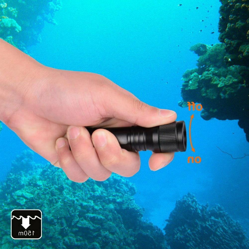 ORCATORCH Dive Switch Underwater