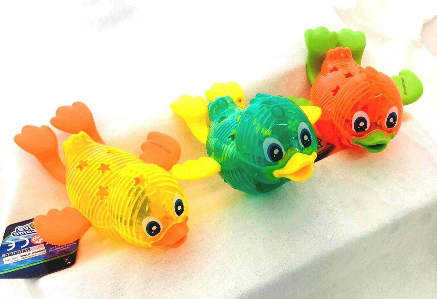 duck dive toy dive game lights up