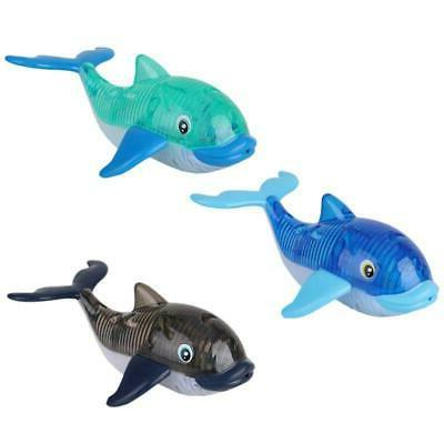 light up diving fish pool toys electronic