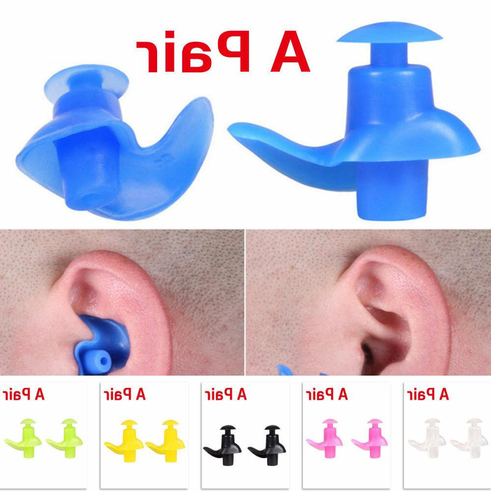 swimming earplugs soft environmental silicone diving water