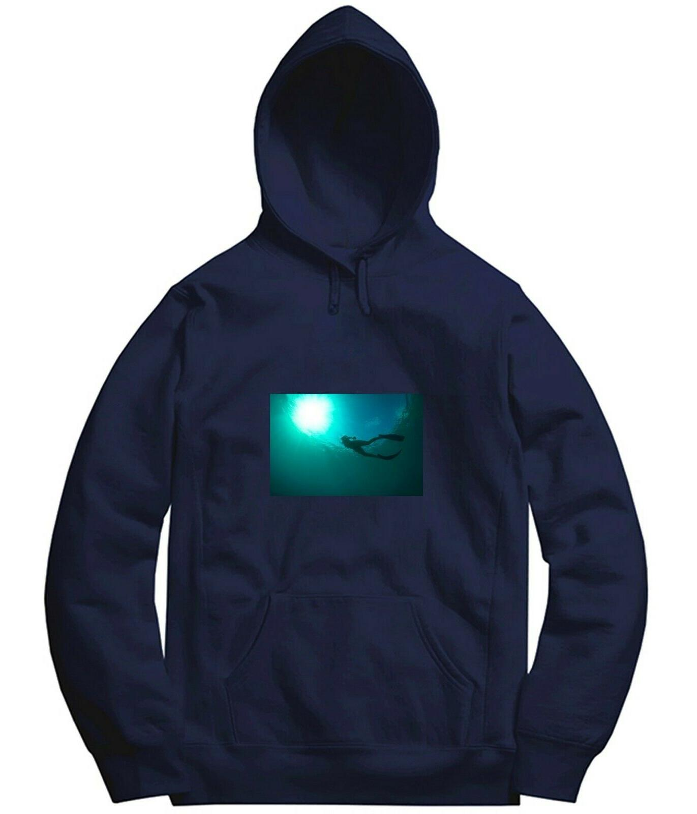 under the sea diving outdoor long hooded