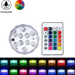 LED Swimming Pool Lights With Remote Control Rgb Dive Light