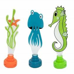 water sports lighted dive pals assorted colors 8 x 7