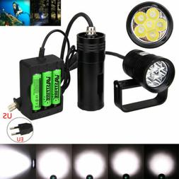 Photography Underwater 150m Diving Flashlight Torch Scuba Su