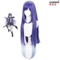 Princess Connect Re:Dive LIAN Cosplay Wig Long Purple Gradie