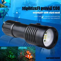 Scuba Diving Underwater 100M Video Photography Flashlight To