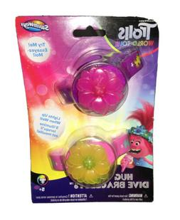 Trolls World Tour Hug Time Dive Bracelets Pink Purple Water