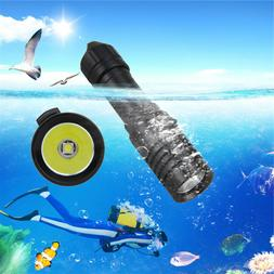 underwater 5000lm scuba diving led flashlight torch